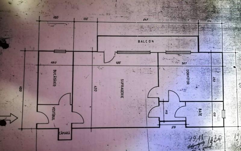 Apartament 2 camere cu centrala Gara de Nord